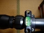 ライフルスコープの水準器-2