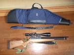空気銃と銃ケース